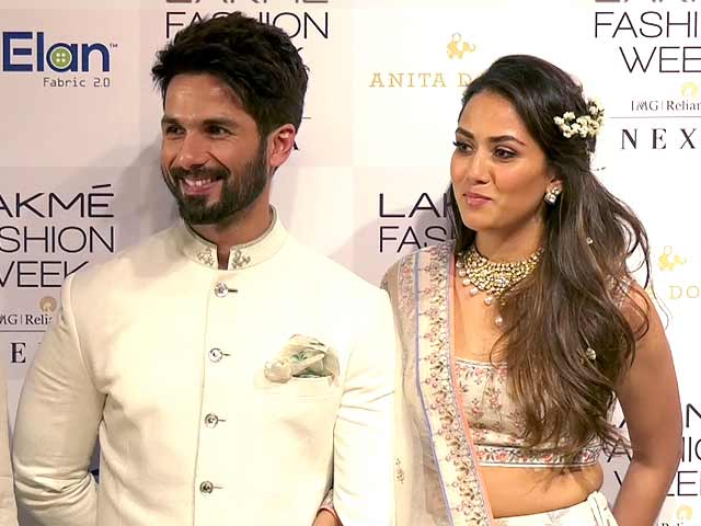 Video : Mira Rajput On Shahid Kapoor's Performance In <i>Padmaavat</i>