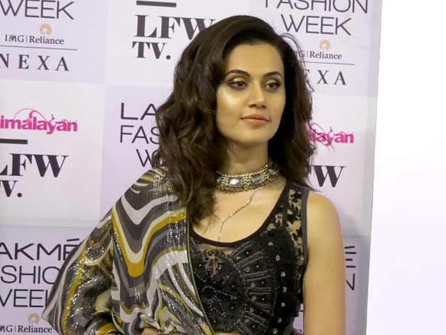 Video : Taapsee Pannu On Fashion & More