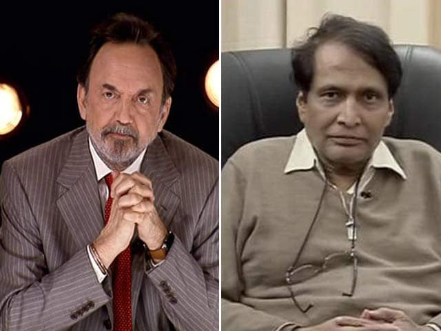 Video : We Have to Re-Strategize Our Foreign Trade Policy, Says Suresh Prabhu