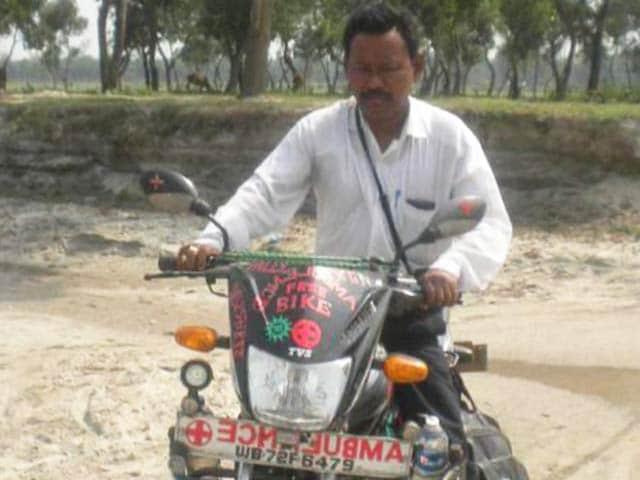 Video : Meet Bike-Ambulance Dada, Karimul Haque, Who Has Saved Over 4000 Lives