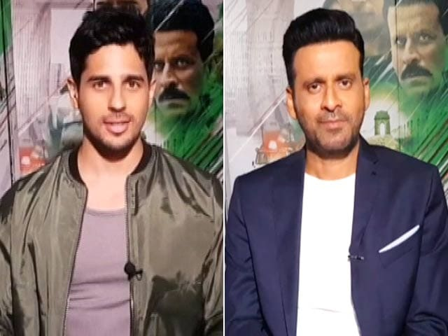 Video : Prime Filmy: Sidharth Malhotra Hopes <i>Aiyaary</i> Encourages Youth To Join Army