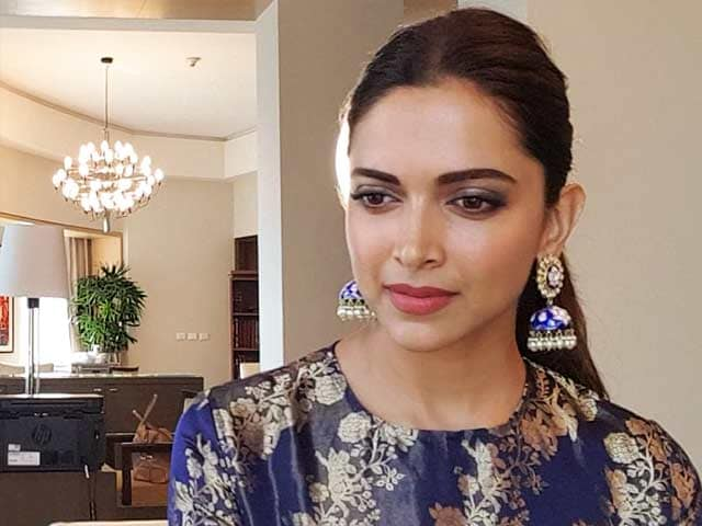Video : I Was Not Scared For A Moment: Deepika Padukone On <i>Padmaavat</i> Controversy