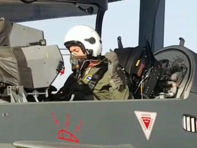Video : US Air Force Chief Flies On 'Made-In-India' Tejas Aircraft In Jodhpur