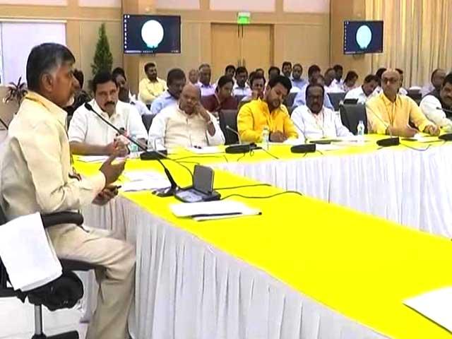 Videos : न्यूज टाइम इंडिया : टीडीपी मंत्रियों ने सौंपा इस्तीफा