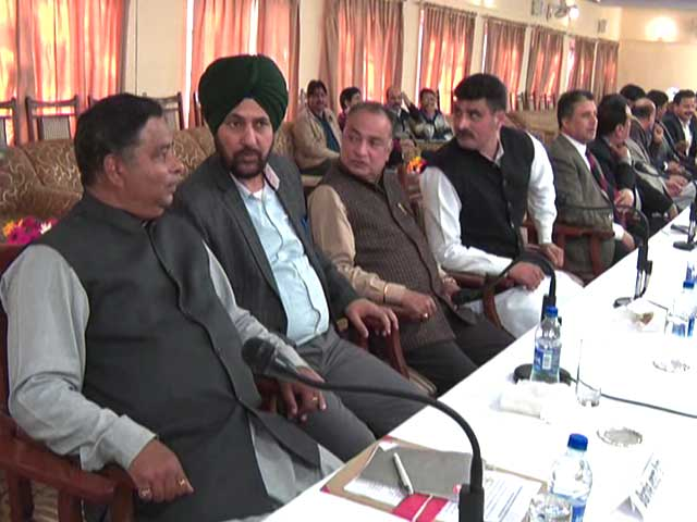 Video : Jammu And Kashmir Panchayat Elections Put Off Despite BJP's Insistence