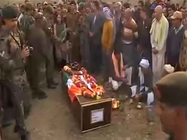 Video : India Bids Farewell To Brave Soldiers Killed In Pak Shelling