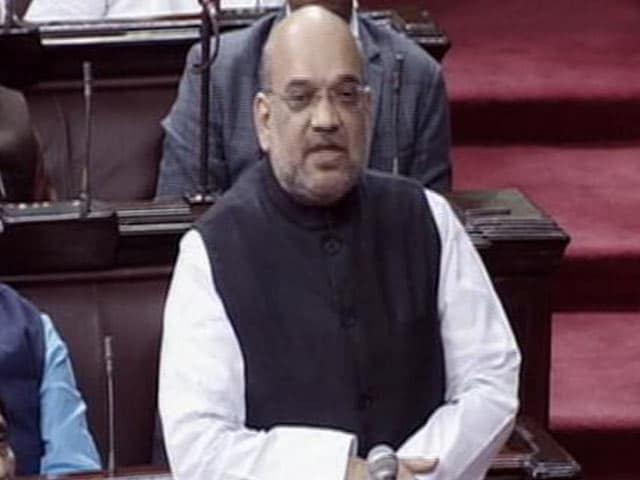 Video : Selling <i>Pakoda</i> Better Than Joblessness: Amit Shah Counters Congress