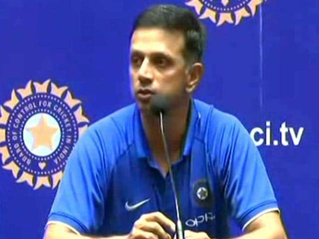 Video : Happy For Boys As They Get To Wear World Cup Winner's Medal: Rahul Dravid