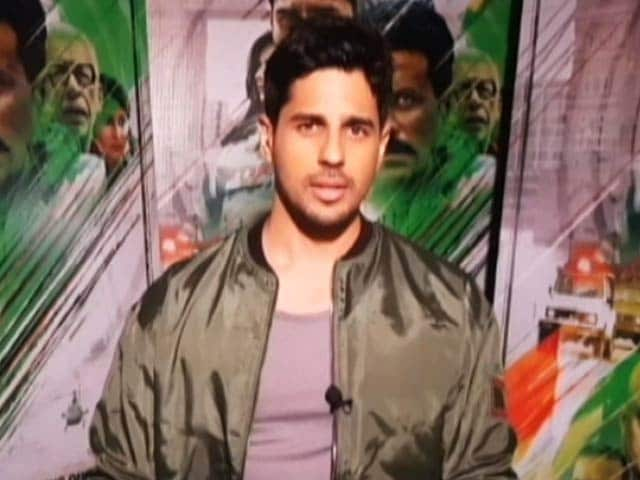 Video : The Vikram Batra Biopic Is Definitely Happening: Sidharth Malhotra
