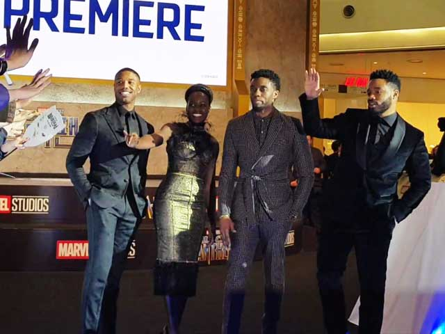 All The Action From The Premiere Of Black Panther In Seoul