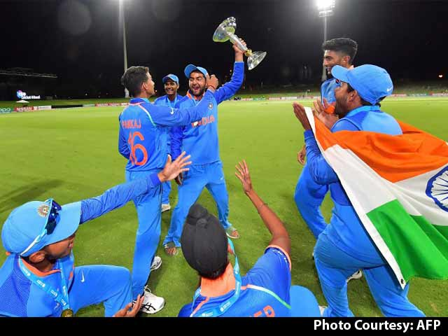 Video : The India Under-19 Team Looked Destined To Win The World Cup