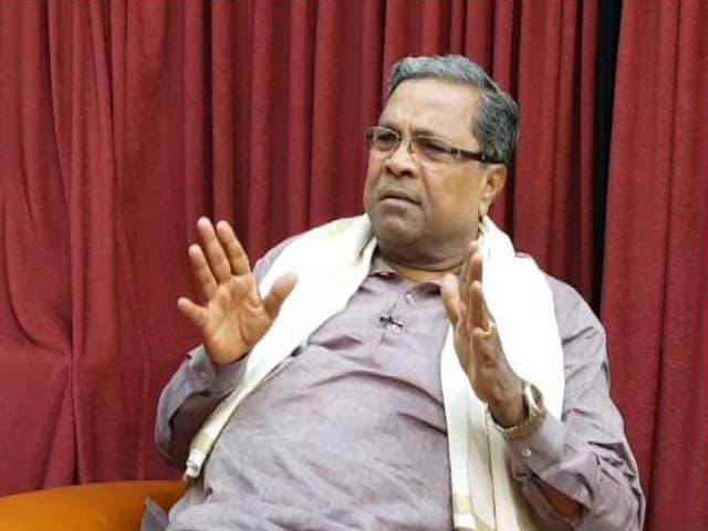 "Video : ""PM Modi's Popularity Diminishing Now"": Karnataka Chief Minister To NDTV"
