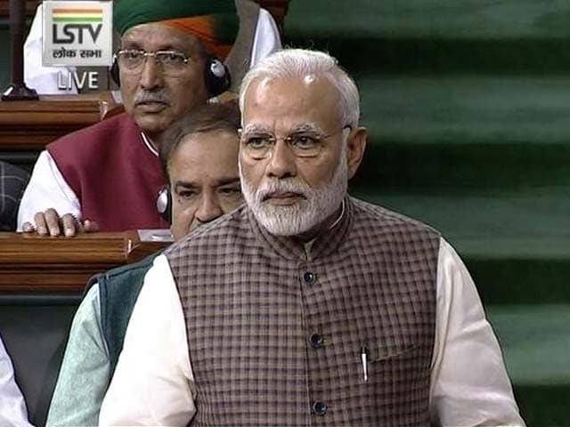 Video : From Partition To Dynasty, PM Rips Into Congress In Parliament Speech