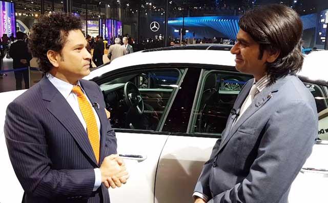 Video : Auto Expo 2018: In Conversation With Sachin Tendulkar
