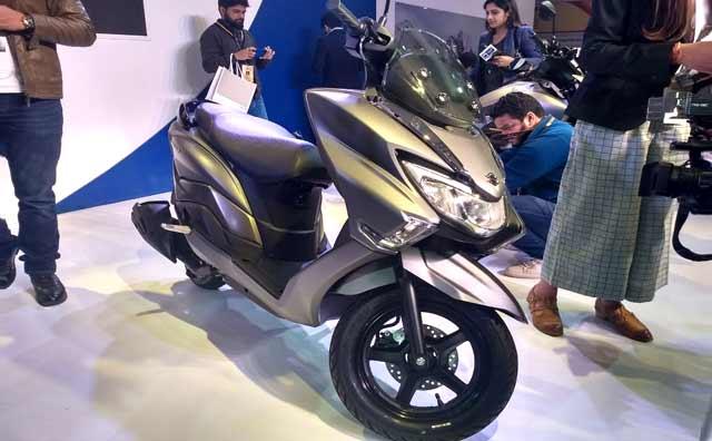 Suzuki Burgman Street, Suzuki GSX-S750 Unveiled