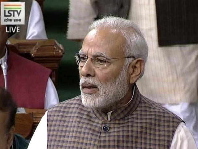 Video : Congress Divided Nation For Selfish Ends, Says PM Modi