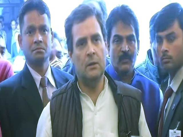 Video : As PM Attacks In Parliament, Congress Hits Back With Slogans