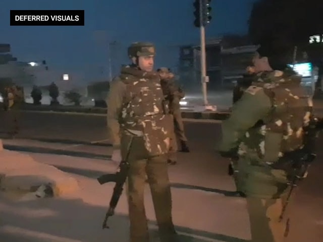 Video : 2 Soldiers Killed, 9 Injured In Terror Attack On Army Camp In Jammu