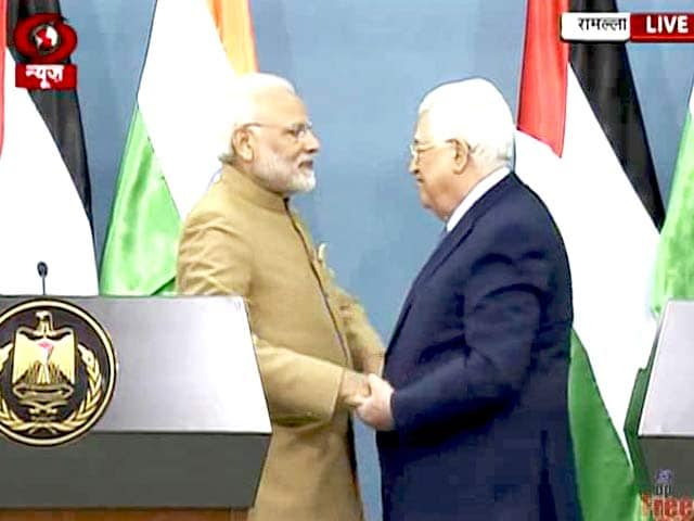 Video : India Hopes To See Independent Palestine State Soon, Says PM