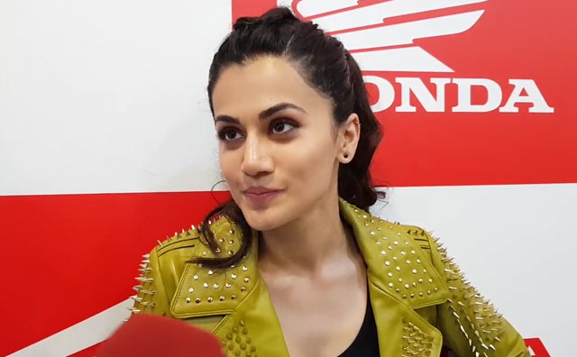 Video : In Conversation with Taapsee Pannu about Electric Vehicles