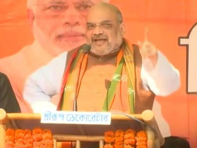 Video : BJP Big Shots Campaign In Tripura