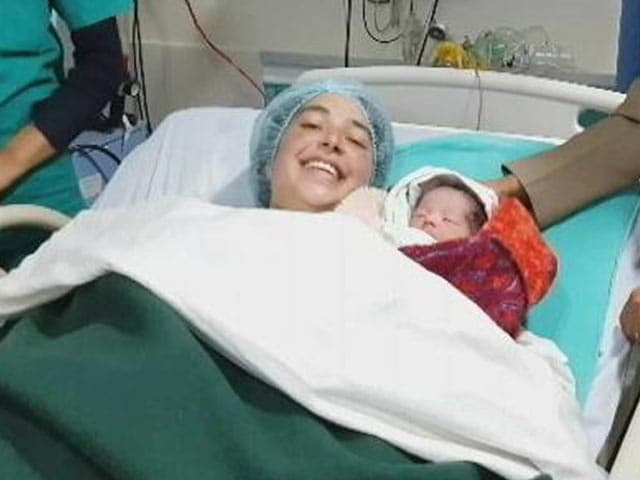 Video : Wife Of Soldier, Shot In Jammu Terror Attack, Delivers Baby Girl