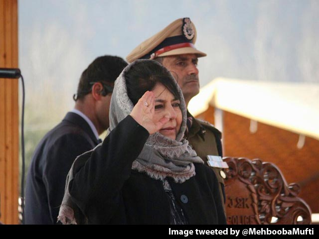"""Video : India Must Talk To Pakistan To """"End Bloodshed"""", Says Mehbooba Mufti"""