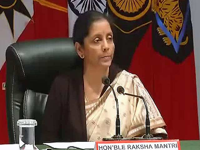 """Video : """"Pak Expanding Arc Of Terror"""": Defence Minister On Jammu Attack"""