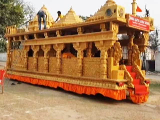 Video : From Ayodhya, A Rath Yatra Begins Today, Will Travel Through 6 States