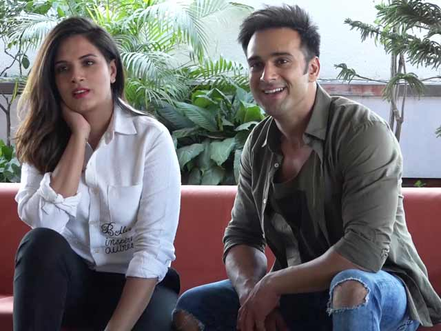 Video : Richa Chadha & Pulkit Samrat On Their Roles In <i>3 Storeys</i>