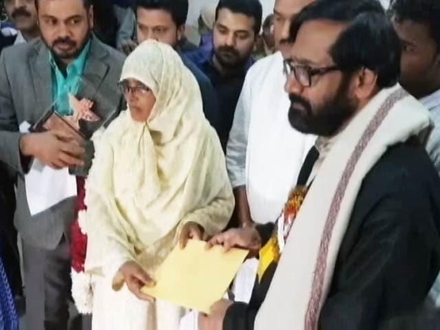 Videos : लेखक केपी रामानुन्नी ने पुरस्कार में मिले एक लाख रुपये जुनैद के परिवार को दिए