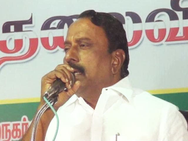 "Video : ""Only To Motivate Party Cadre"": AIADMK 'Explains' Minister's Jobs Comment"
