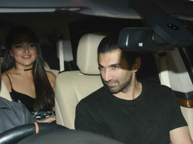 Bollywood Stars At Karan Johar's Valentine's Day Party