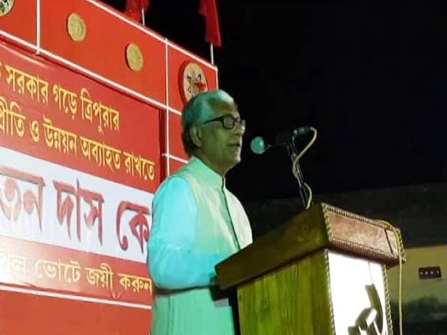 Video : Tripura Polls: Wind Of Change Versus Manik Sarkar's Image