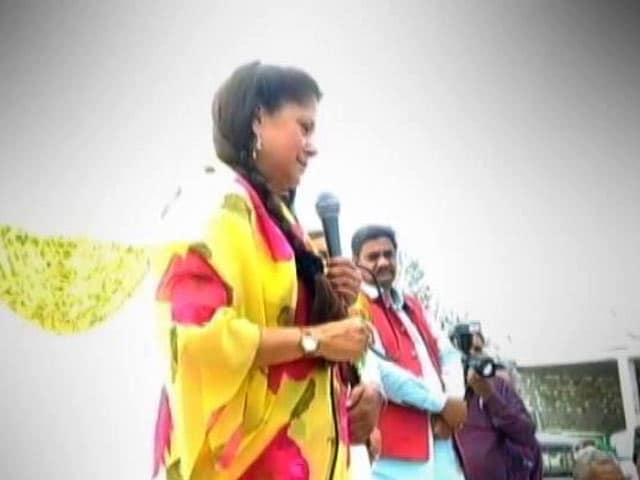 Row Over Madhya Pradesh Minister Yashodhara Raje Scindia's Message To Voters