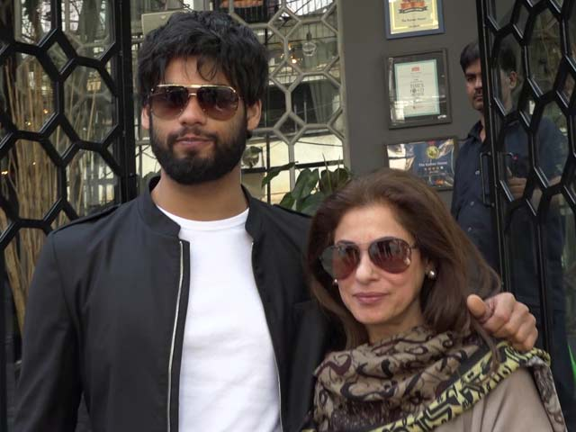 Dimple Kapadia Introduces Her Nephew Karan Kapadia