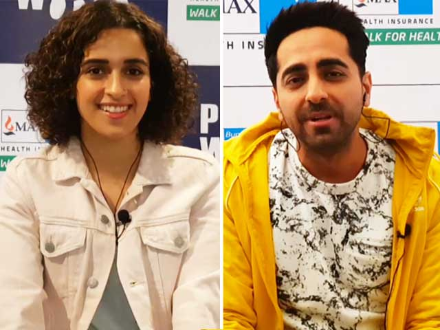 Video : <i>Badhaai Ho</i>, Ayushmann Khurrana and Sanya Malhotra