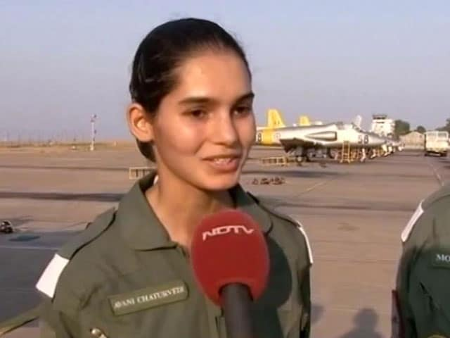 Video : Avani Chaturvedi Becomes First Indian Woman To Fly A Fighter Jet