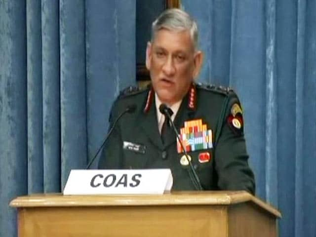 "Video : Pakistan Behind ""Planned"" Influx From Bangladesh Into Northeast, Says Army Chief"