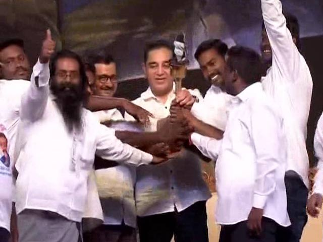 Video : On Saffron In National Flag, Kamal Haasan Makes A Point