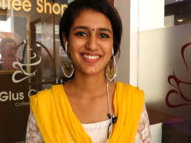 Video : Priya Varrier Says <i>Oru Adaar Love</i> Controversy Was 'Unexpected'