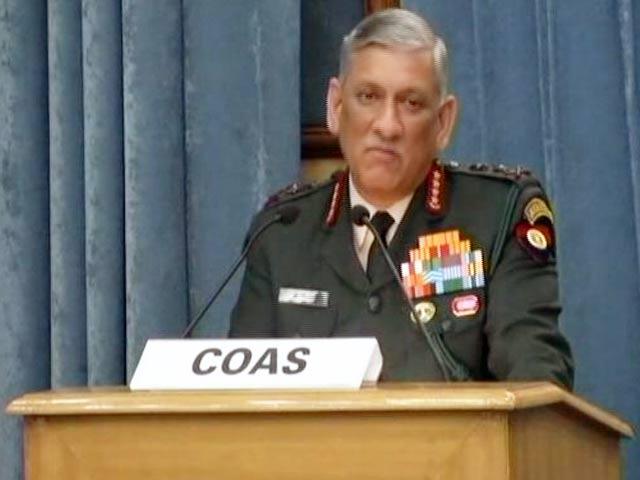 Videos : रणनीति : सेना प्रमुख के बयान पर संग्राम