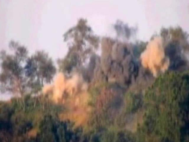 Video : Video: Army Blows Up Pakistan Posts That Helped Terrorists Cross LoC