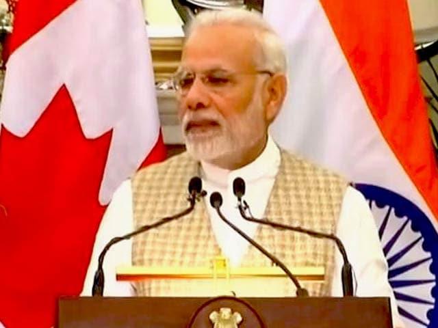 Videos : कनाडा के पीएम और प्रधामंत्री का संयुक्त बयान- आतंकवाद के खिलाफ मिलकर लड़ेंगे