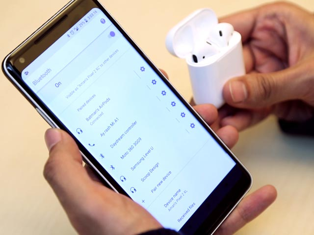 9cb51bc204c How To Use AirPods With Android Phones: Pairing, Check Battery Levels, And  More