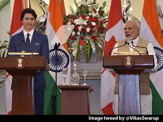 Video : Justin Trudeau By His Side, PM's Message Linked To Khalistan