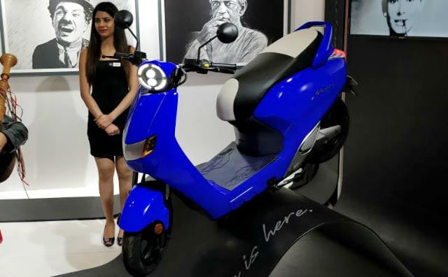 Twenty Two Flow Electric Scooter Launched In India At The Auto Expo 2018