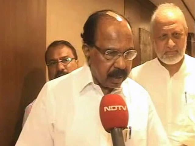 "Video : ""Nobody Will Be Spared"": Veerappa Moily On MLA's Son Accused Of Assault"