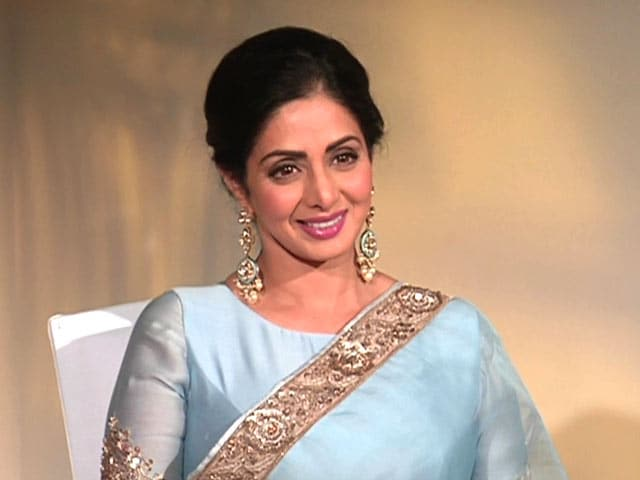 "Video : ""Seems Like I Just Started"": Sridevi On Her Last Hindi Movie (Aired: July 2017)"