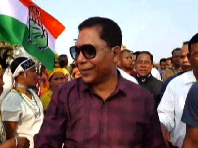 Video : In Meghalaya, Mukul Sangma Spearheads Congress Battle For Garo Hills